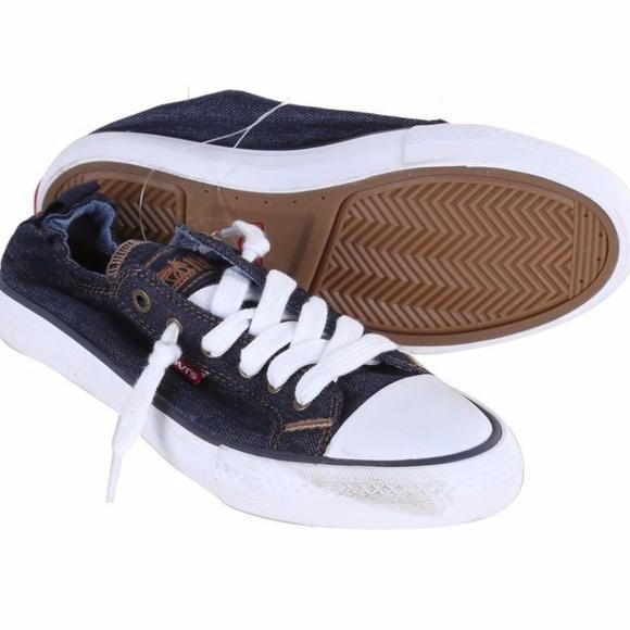 dfea43ea1981d3 Levi s Ladies  Denim  Canvas Slip On Sneakers